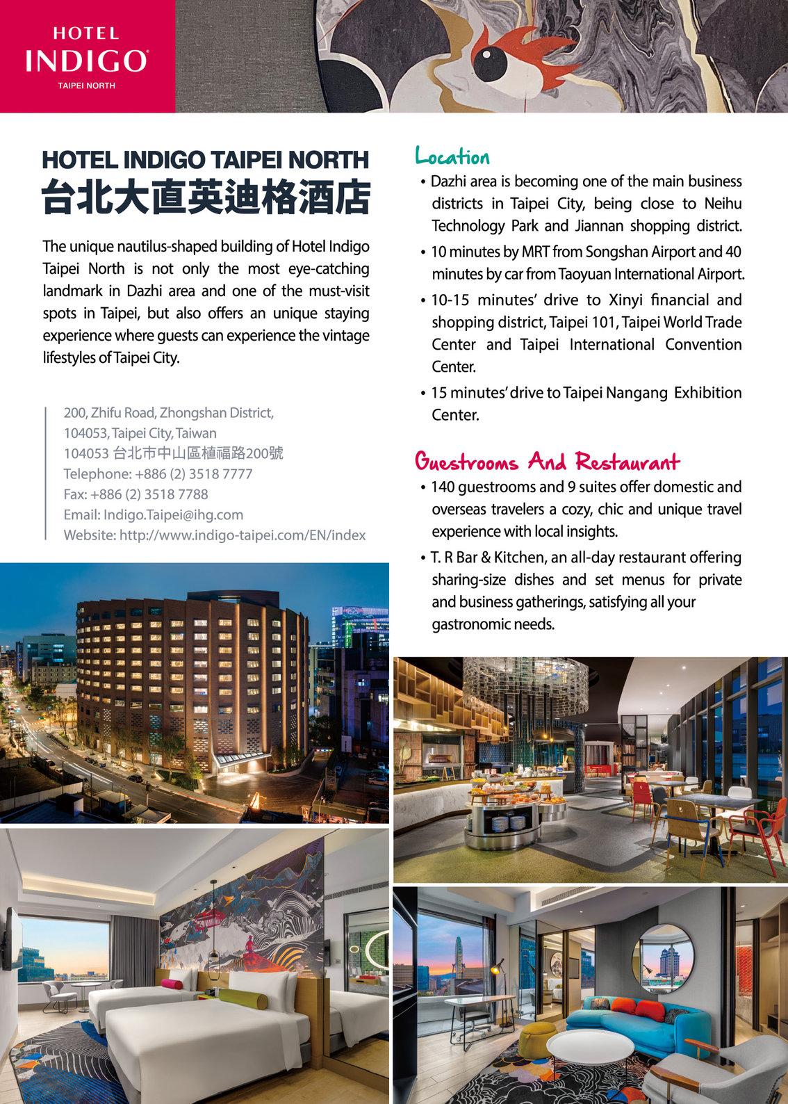 Hotel Indigo Taipei North