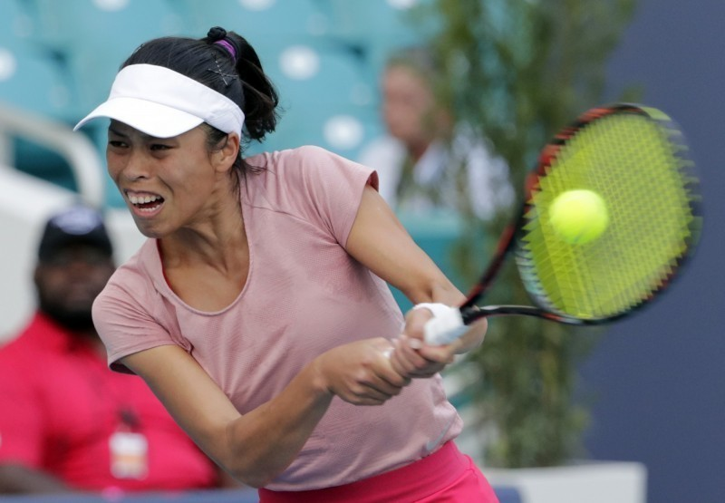 Taiwan's Hsieh wins women's doubles title at Mutua Madrid Open