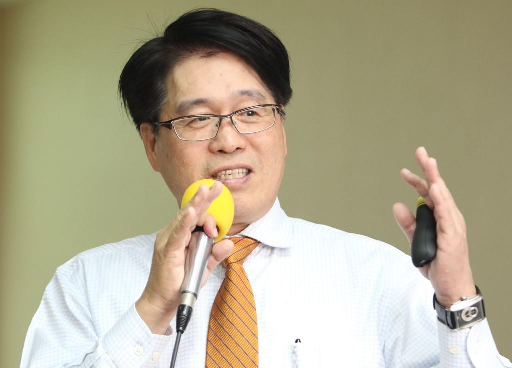 台灣民意教育基金會董事長游盈隆(圖片來源:游盈隆臉書專頁)