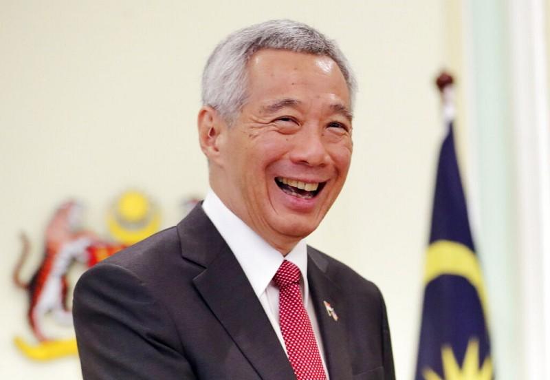 新加坡總理李顯龍(圖/美聯社)
