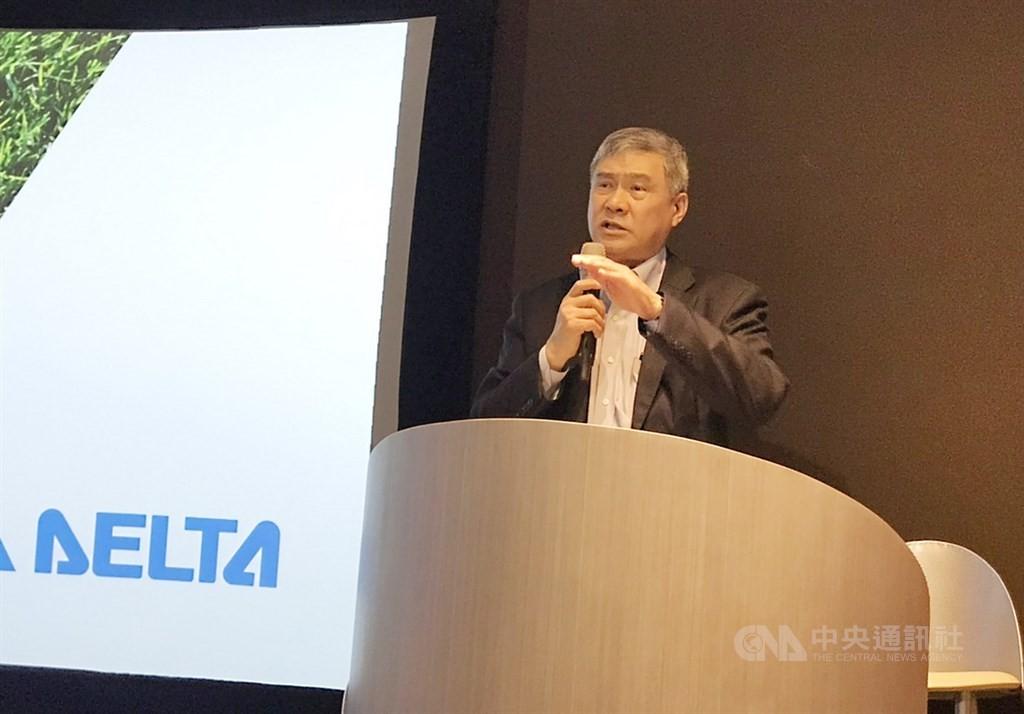 Delta Electronics Chairman Yancey Hai.