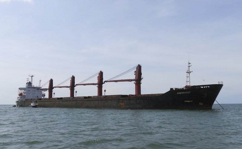 北韓貨輪遭美扣押(AP)