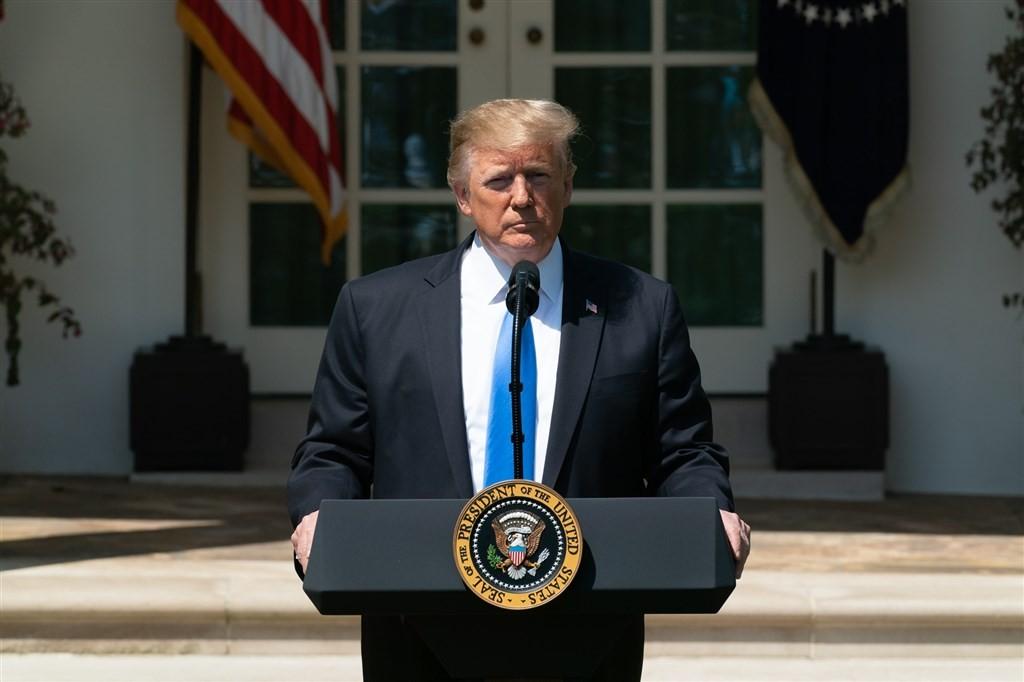 川普指示貿易代表署開始對另外約3000億美元中國進口商品加徵關稅展開規劃。(圖取自facebook.com/WhiteHouse)