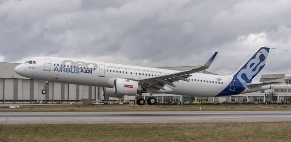 Airbus A321neo (Photo from Airbus)