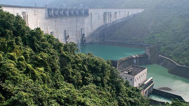 翡翠水庫與翡翠電廠等。(維基百科 / CC BY-SA 4.0)