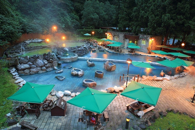 Jioujhihze Hot Spring (Loudong Forest District Office)