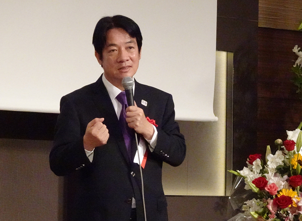 William Lai in Tokyo, May 12