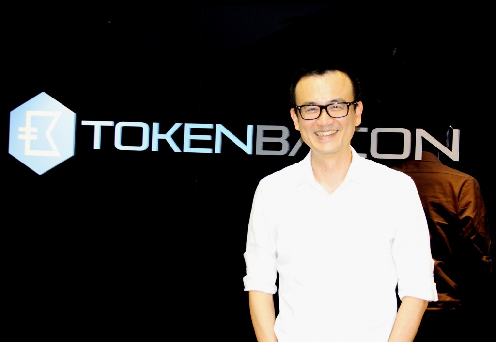 Lai Chih-Hsing (來智行), founder and CEO of TokenBacon (Photo by Sophia Yang/ Taiwan News)