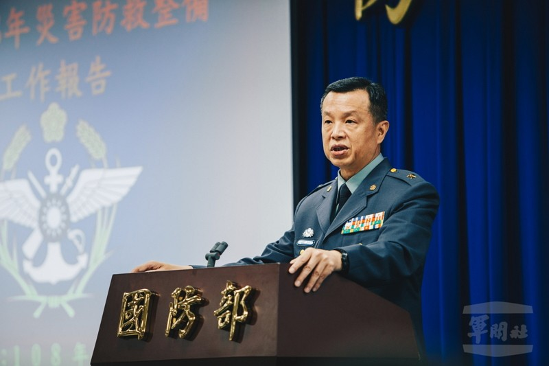 MND spokesman Chen Chung-chi (陳中吉) (Photo/MND)