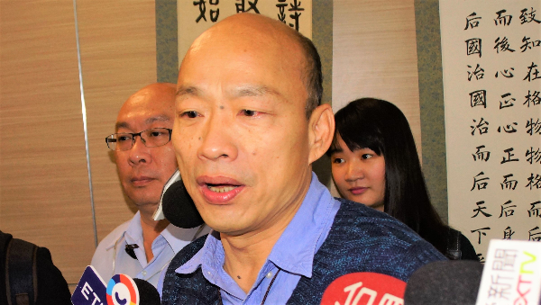 Han says he will stay in Kaohsiung if elected Taiwan president