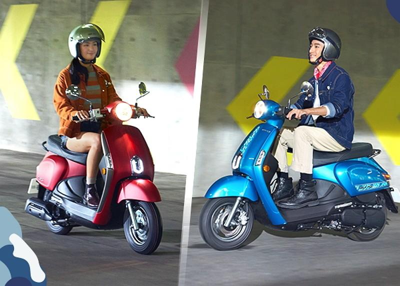 Electric motorcycles (Photo/FB Kymco Taiwan)