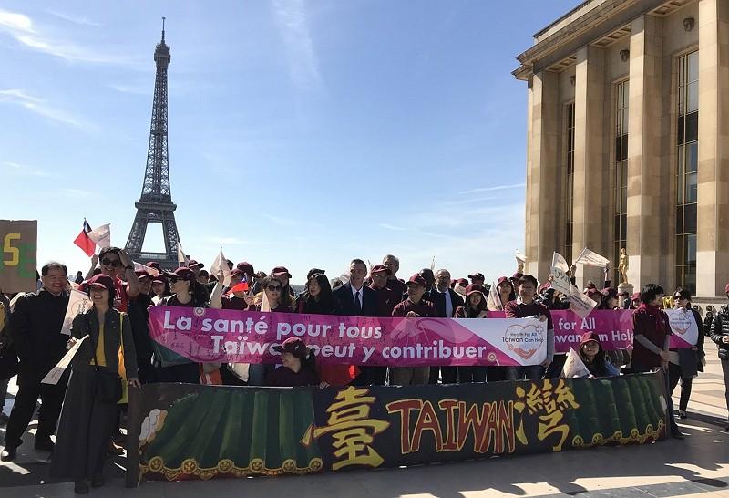 與台灣同行在巴黎 法國會議員挺台參與WHA