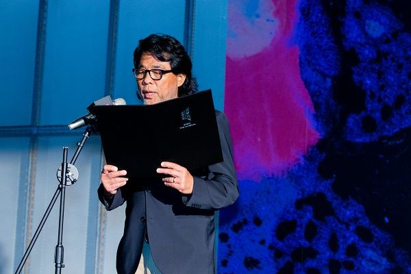 Cinematographer Mark Lee Ping-bing announces nominees (Photo from TFF)