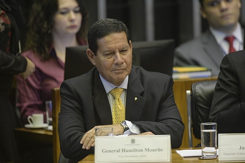 巴西副總統莫勞(Hamilton Mourao)(照片來源:資料照片/Wikipedia)