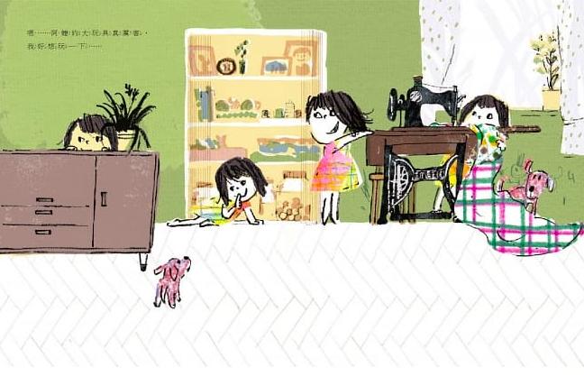 台灣繪本作家林小杯以「喀噠喀噠喀噠」獲獎(圖/博客來)