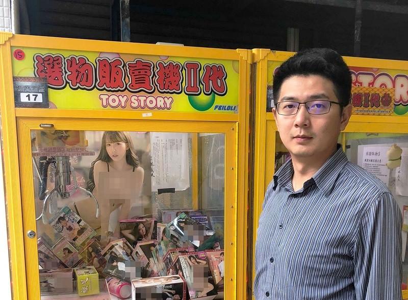 Taichung City Councilor Huang Shou-ta (CNA photo)