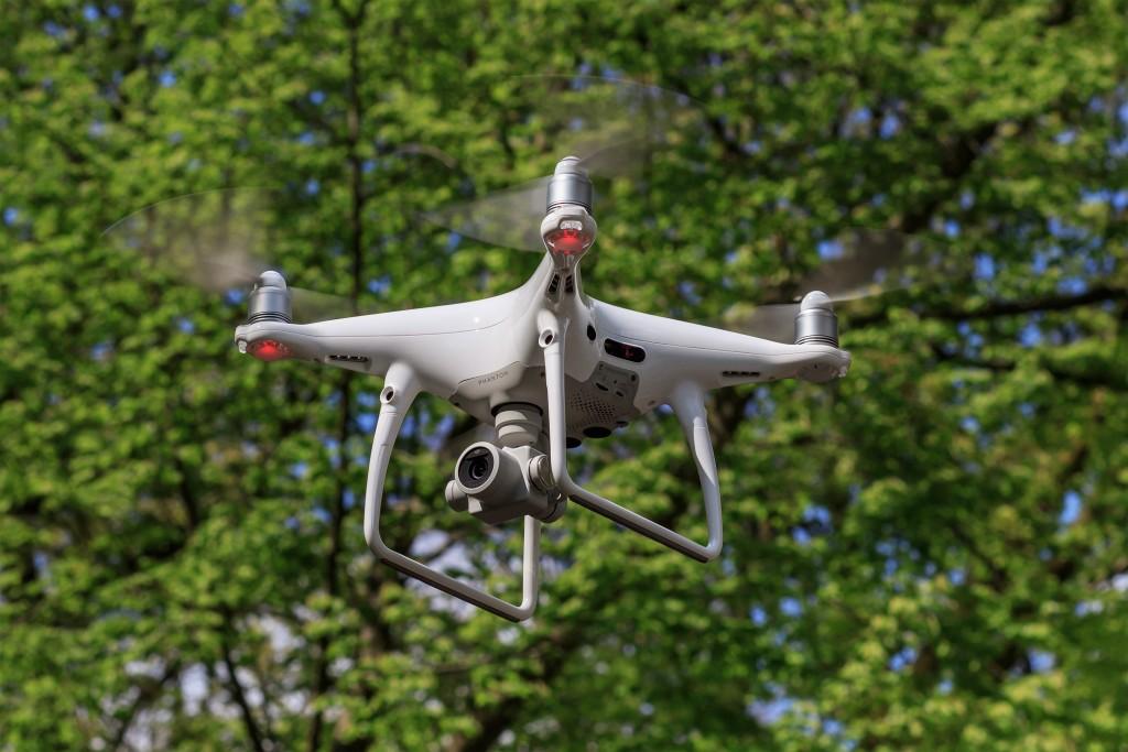 中國製造無人機爆資安危機。(維基百科)