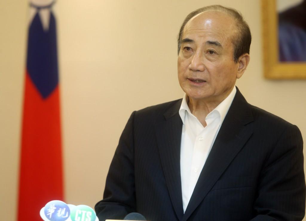 KMT legislator Wang Jin-pyng.