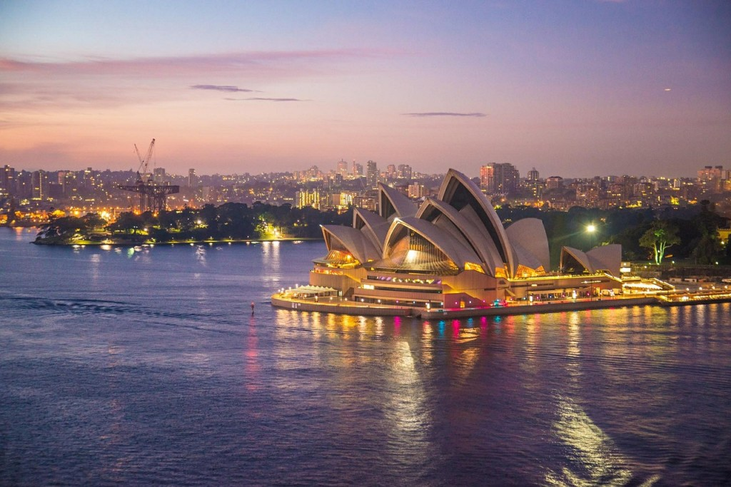 雪梨歌劇院(圖/ pixabay)