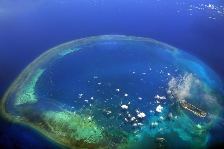 東沙環礁國家公園。(圖片來源:臺灣國家公園網 / 劉武雄攝)