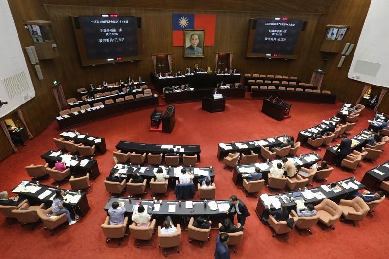 Legislative Yuan (By CNA)