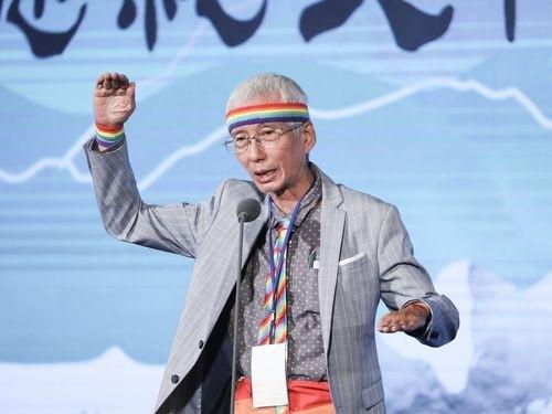 Taiwan President Tsai Ing-wen honors gay rights activist with historic pen