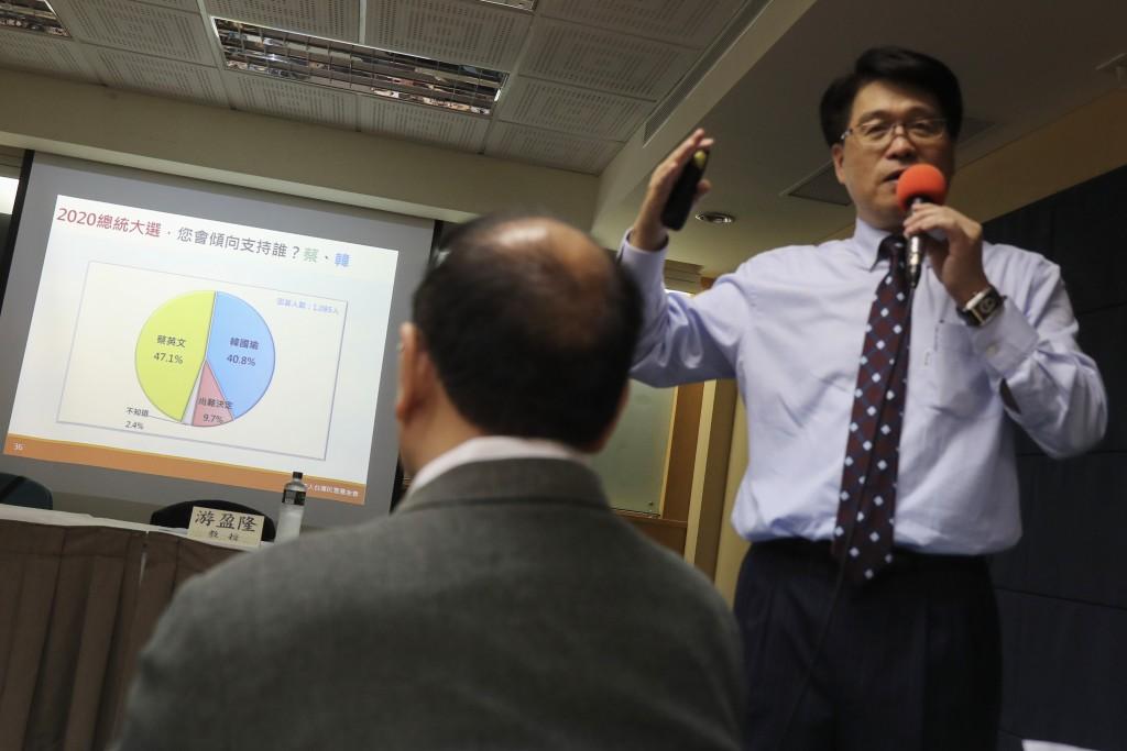 Taiwan Public Opinion Foundation Chairman Michael You. (游盈隆)