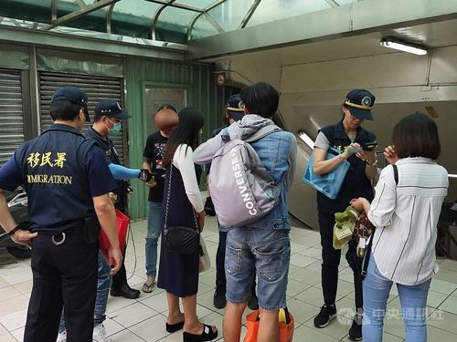 165 people across Taiwan arrested for overstaying visas, working illegally