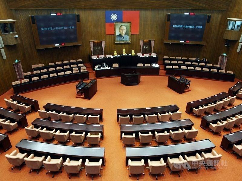立法院議場(照片來源:資料照片/中央社提供)