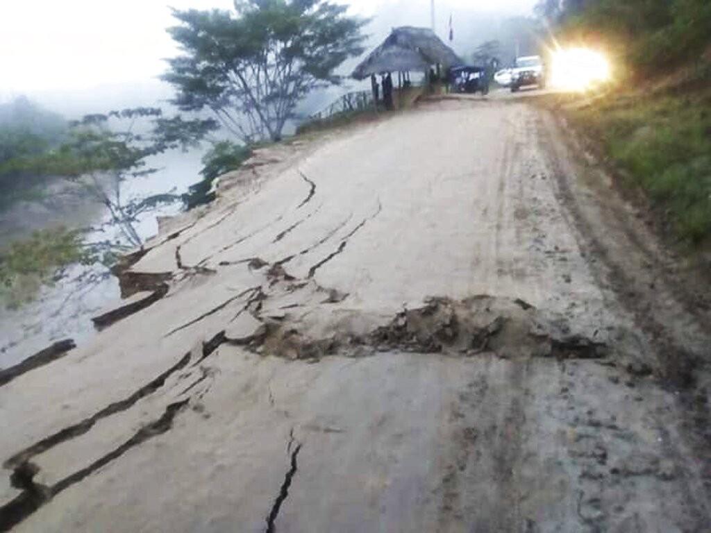 2019.5.26秘魯發生規模8.0強震。(照片來源:美聯社)