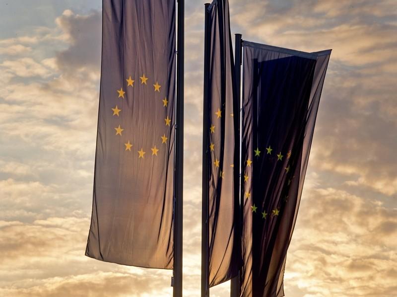 歐盟旗幟(AP)
