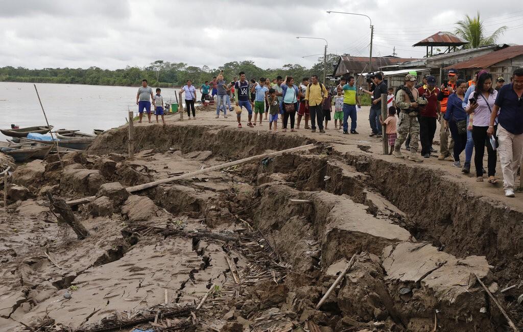 秘魯強震。(照片來源:美聯社)
