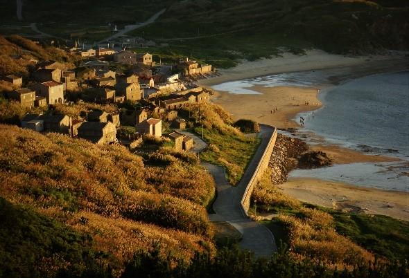 Fuzheng Village on Matsu's Dongju Island. (Matsu National Scenic Area Administration photo)