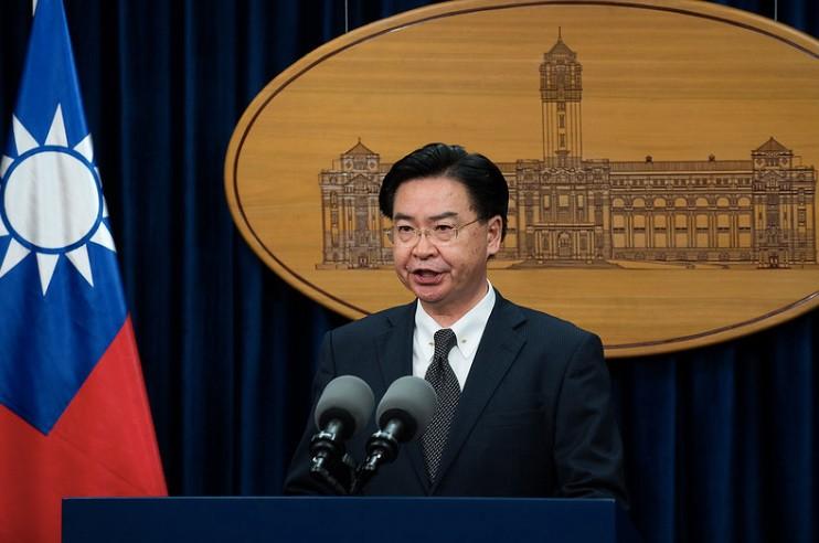 外交部長吳釗燮訪(照片來源:總統府提供)