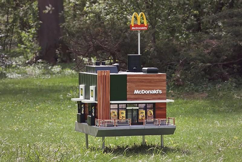 最迷你麥當勞 (影片截圖)