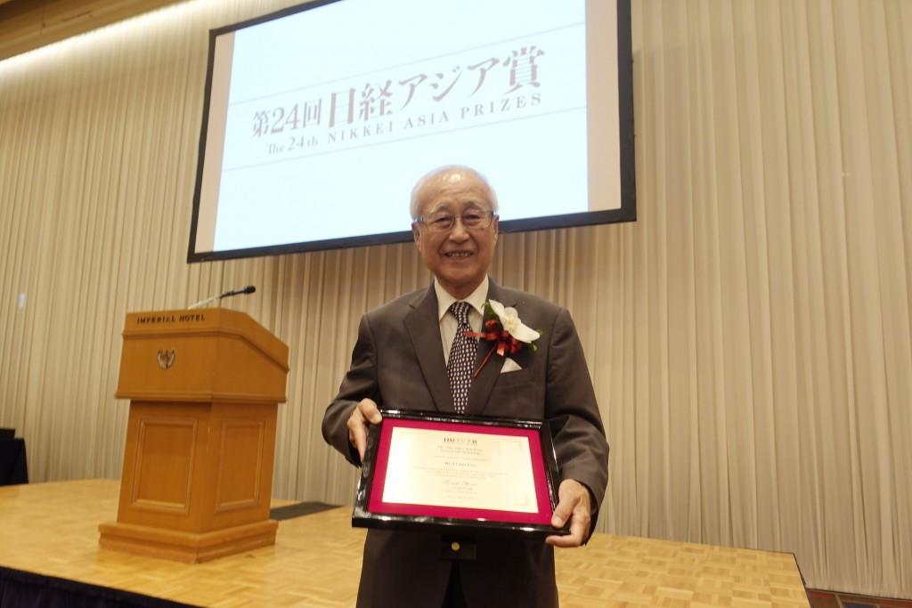 Liao Yi-chiu, the father of prawn farming in Taiwan
