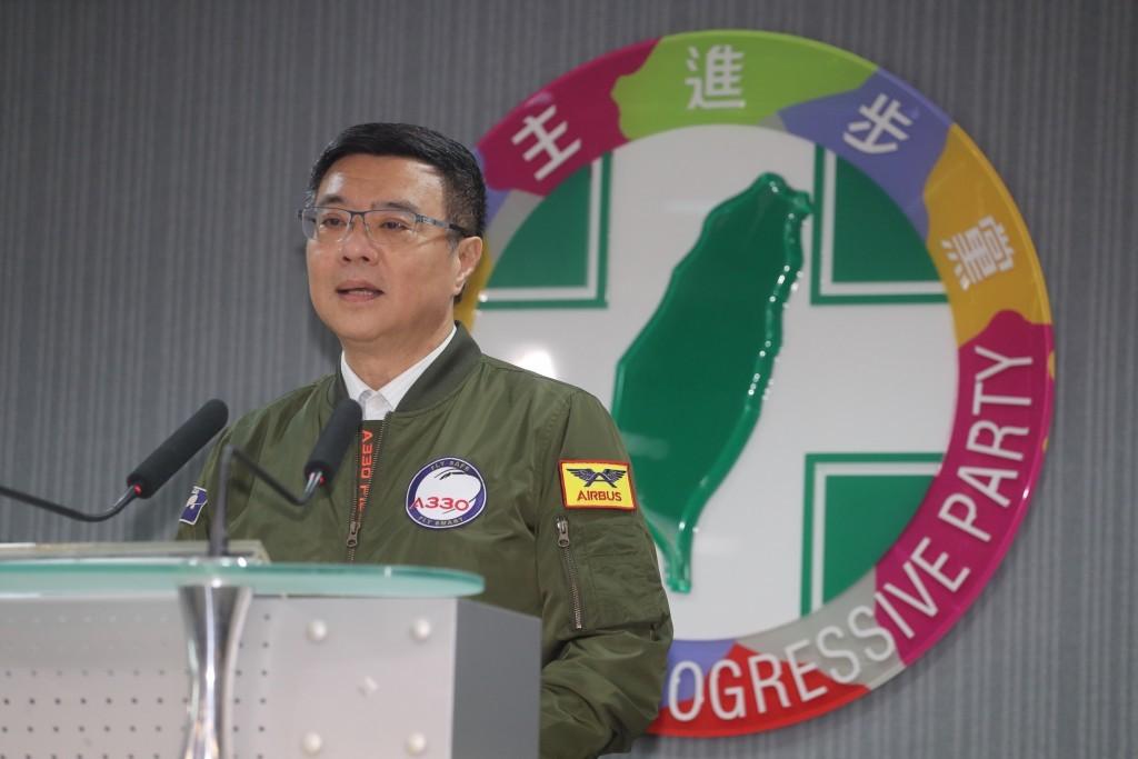 民進黨黨主席卓榮泰(圖/ 中央社)