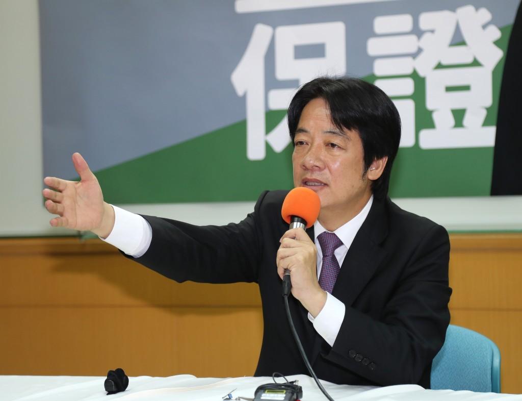 賴清德6月1日召開「守護台灣」記者會