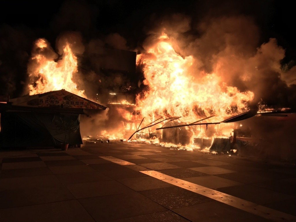(Hulien Fire Department photo)