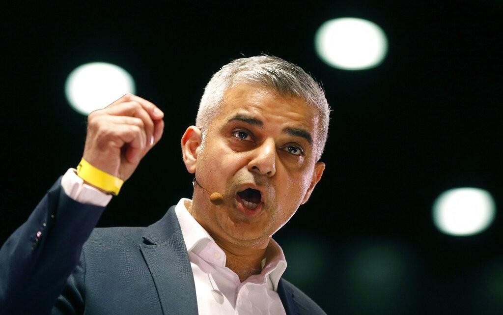 倫敦市長薩迪克.汗(Sadiq Khan)(圖/ AP)
