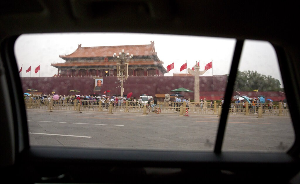 中國北京天安門廣場(照片來源:資料照片/美聯社提供)