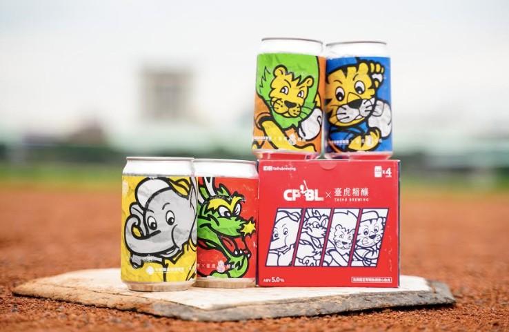 中華職棒30週年啤酒組合(圖/臺虎)