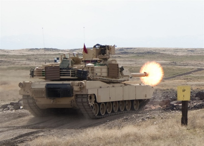M1A2 Abrams tank. (Photo from army.mil)