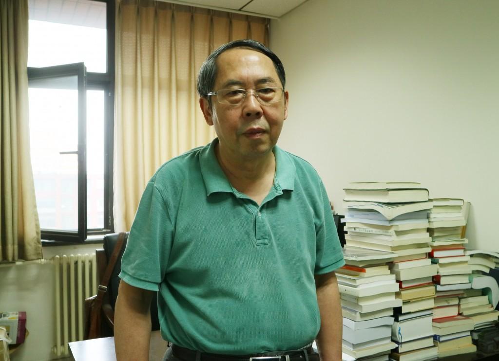 中國國關學者時殷弘(照片來源:中央社提供)