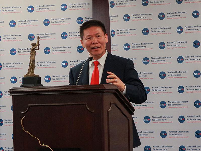 基督教人權組織「對華援助協會」(China Aid)創辦人傅希秋