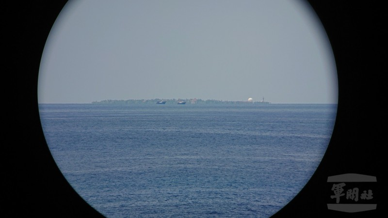 China continues build up on Gaven Reef, just 30 km from Taiwan's Taiping Island