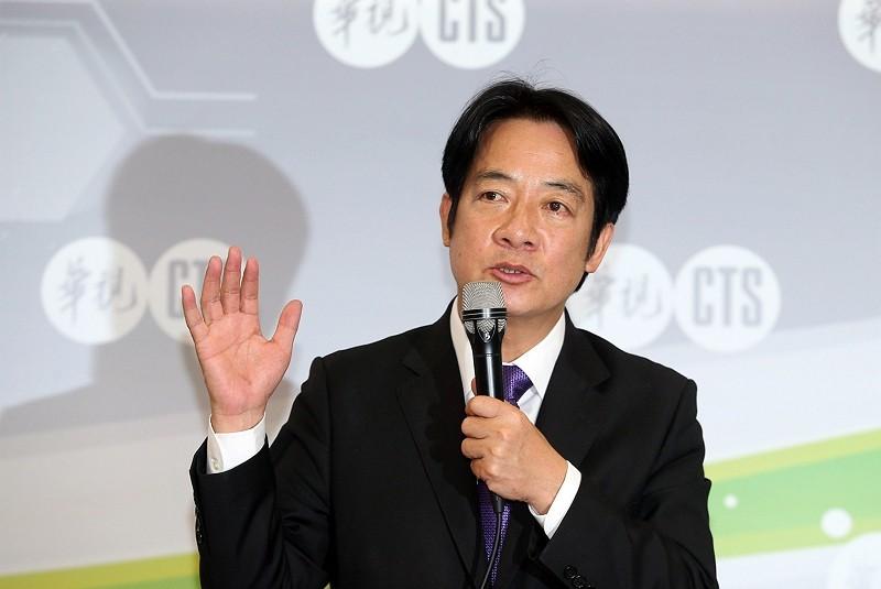William Lai (CNA photo)