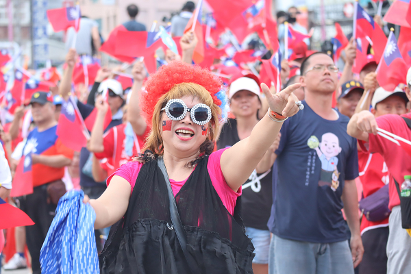 Han Kuo-yu supporters in Hualein