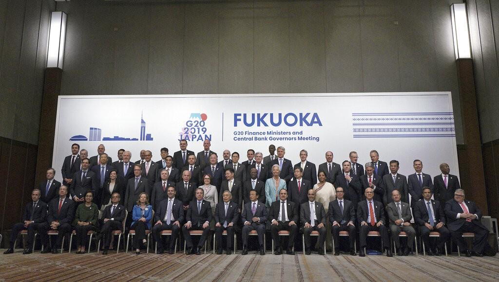 福岡 G20 財長和央行總裁峰會(圖/ AP)