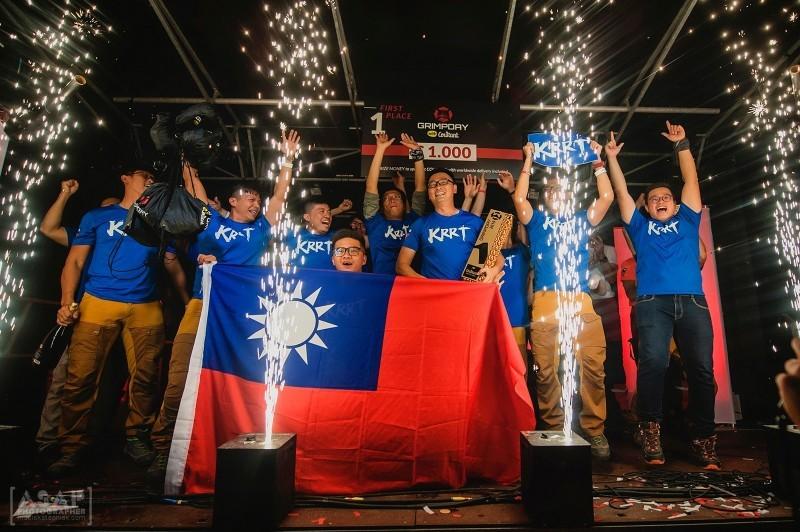 KRRT declared GRIMPDAY champions in Belgium, June 8 (Photo from KRRT)